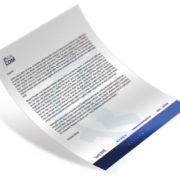 en tete de lettre imprimée