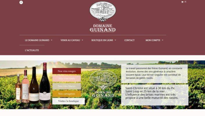 site ecommerce vente de vin