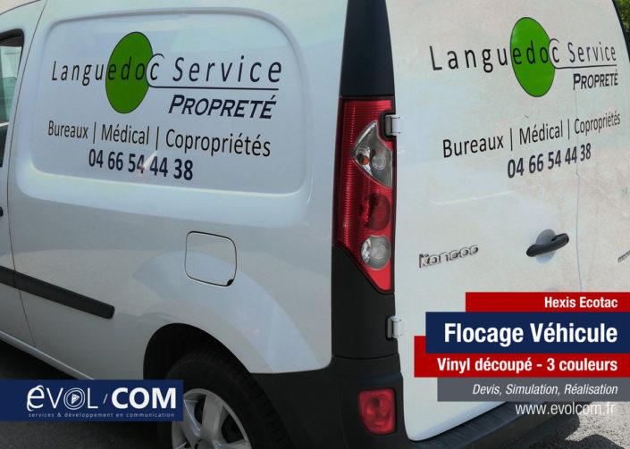 flocage voiture véhicule anduze ales quissac sommières nimes