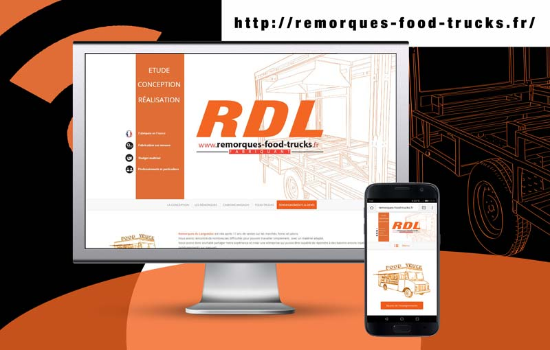 creation de site internet de food truck