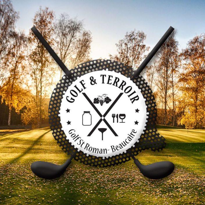 logo golf gard creation