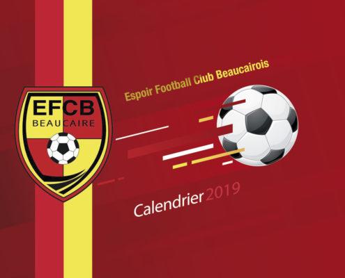 creation calendrier club de foot gard