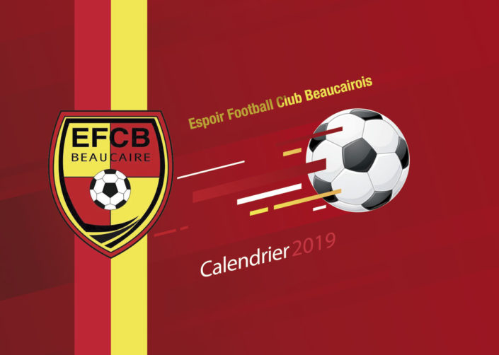 creation calendrier club de foot gard