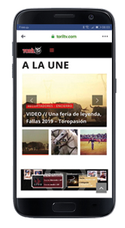 toriltv le site mobile