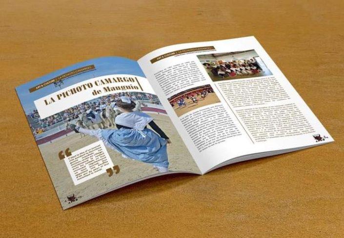 Création graphique de magazines Gard