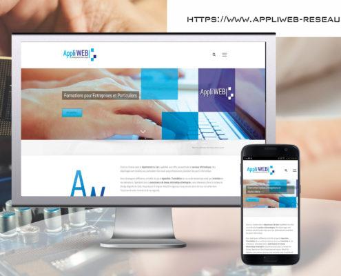 création site internet à codelet pour Appliweb